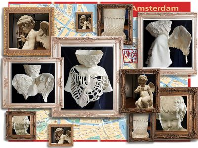 Felt Art By Kira Outembetova. ` Amor In Amsterdam `