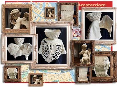 Felt Art By Kira Outembetova. ` Amor In Amsterdam `