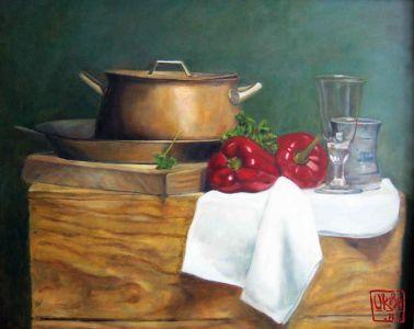 Still Life By Kira Outembetova, (2)