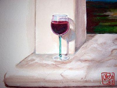 Trompe L`oeil Mural ` Amalfi ` By Kira Outembetova (fragment)