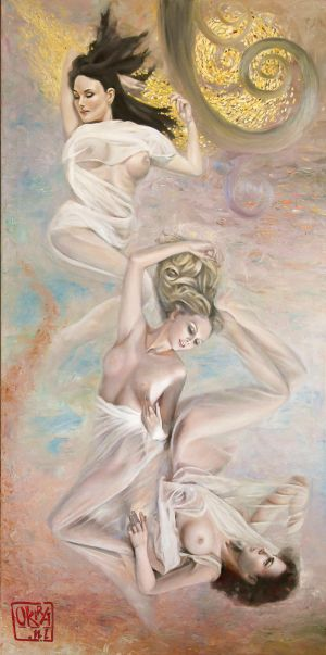 ` Floating `  By Kira Outembetova Part 2