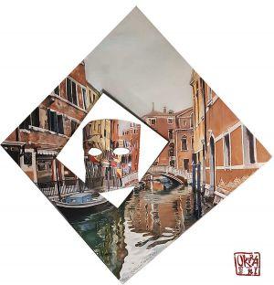 ` Venice `  By Kira Outembetova