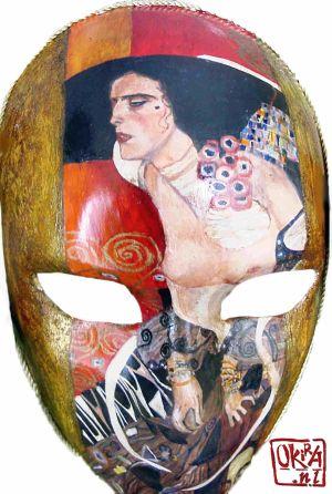 Mask ` Klimt `  By Kira Outembetova