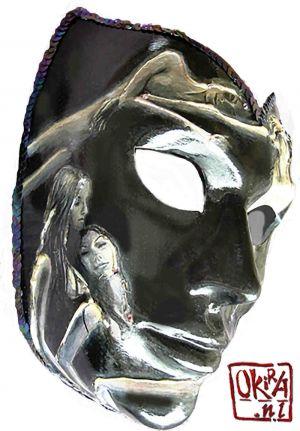 Mask ` Seduction ` By Kira Outembetova