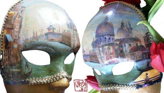 Mask ` Venice `  By Kira Outembetova
