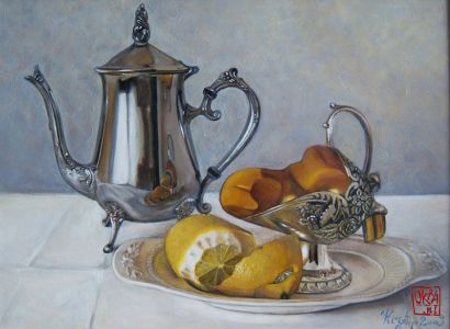 Still Life By Kira Outembetova
